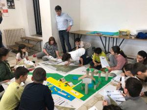 I bambini progettano il parco urbano 1