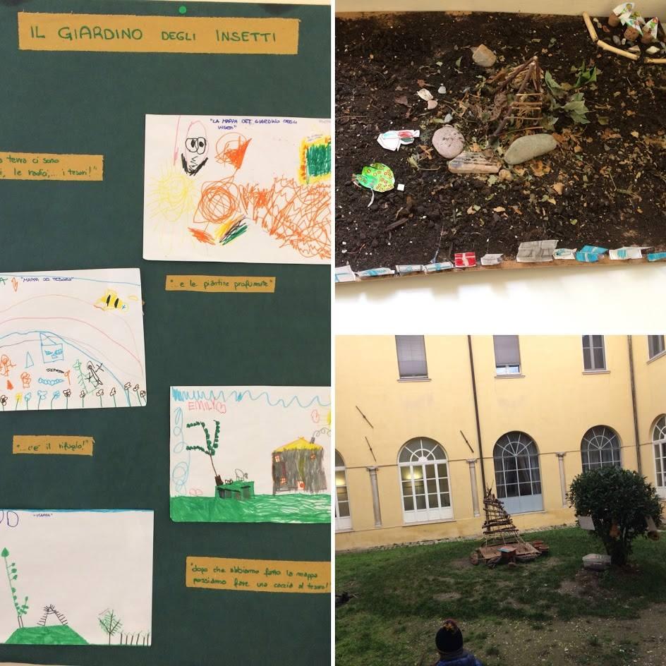 """""""Il giardino degli insetti"""" nelle Scuole Materne"""